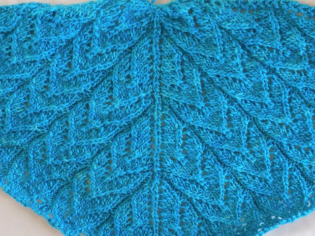 198 yds. of Heaven shawl