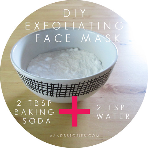 The A & B Stories: Simple DIY Exfoliating Baking Soda Face ...
