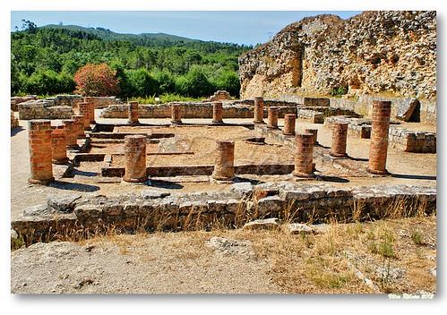 Peristilo de casa romana em Conimbriga #2 by VRfoto