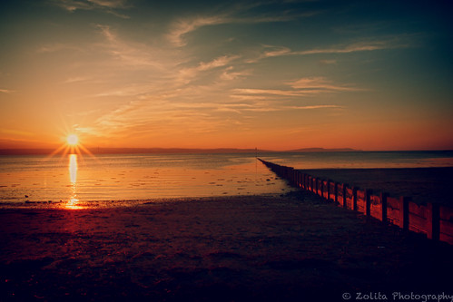 Ballyholme Sunset by xxx zos xxx & bump