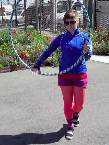 Hooping at Maker Faire