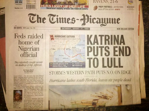 Katrina Puts End To Lull