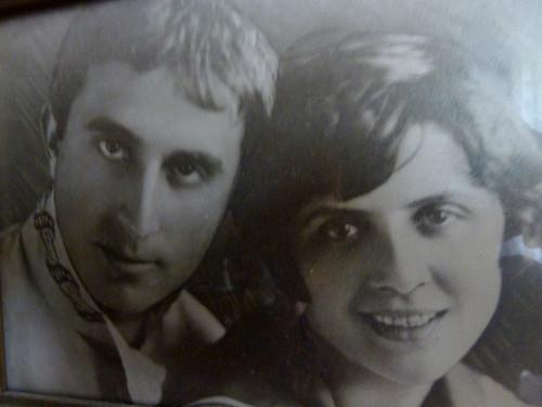 Яков Бронштейн и Мария Минкина, Минск 1931