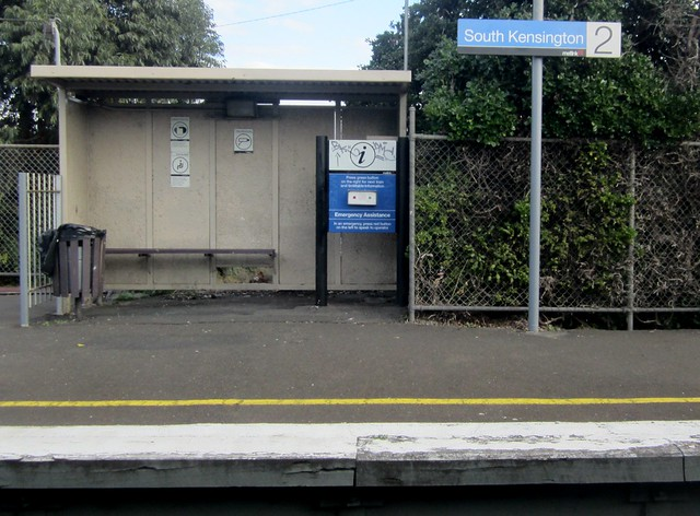 South Kensington - Melbourne's ugliest station?