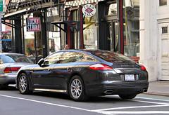 sports car(0.0), automobile(1.0), automotive exterior(1.0), executive car(1.0), wheel(1.0), vehicle(1.0), performance car(1.0), automotive design(1.0), porsche(1.0), porsche panamera(1.0), land vehicle(1.0), luxury vehicle(1.0), supercar(1.0),