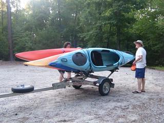 Broad River Paddling May 26, 2012 7-30 PM