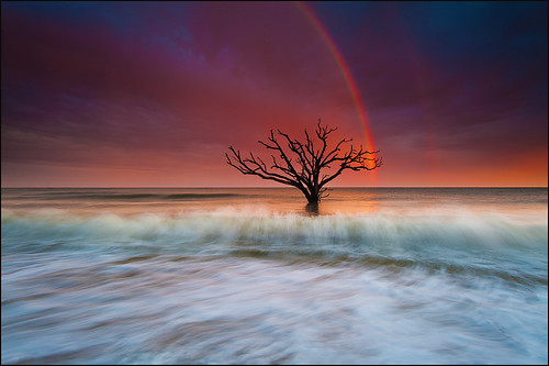 Magic Rainbow Over Edisto Island by IgorLaptev