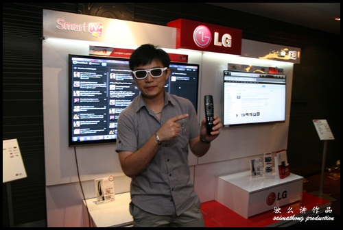 LG CINEMA 3D Smart TV Party : Magic Remote