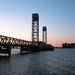 Rio Vista Bridge at dawn by SolanoSnapper