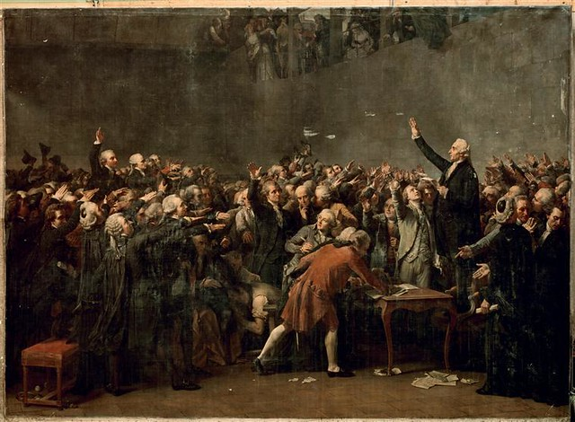 Auguste Couder, <i>Le Serment du Jeu de paume (20 juin 1789)</i>
