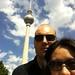 Vor dem Berliner Fernsehturm