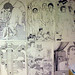 drawings on wall by e*rock