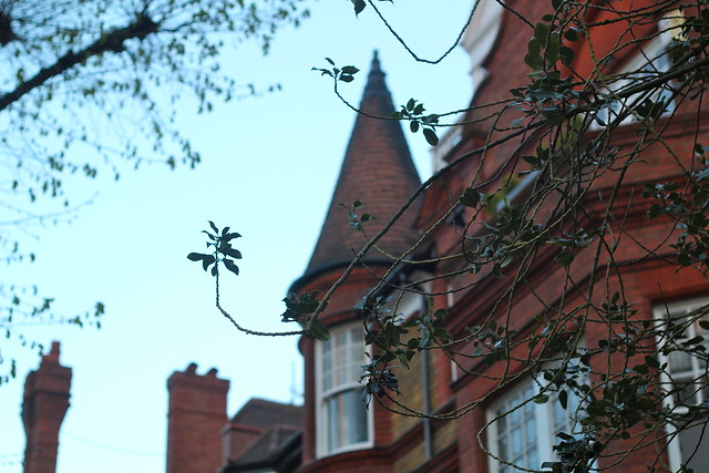 Sunday: Beautiful buildings in Hampstead Heath