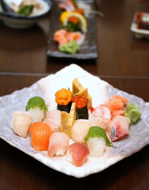 Akari Dining & Bar: Tokusyou Nigiri 12 Syu