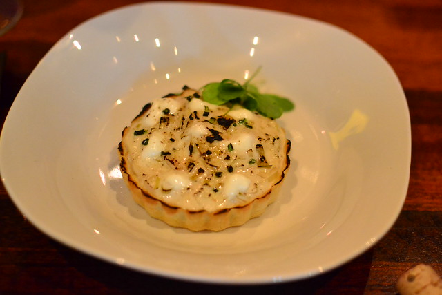 Caromont Goat Cheese Tartlet