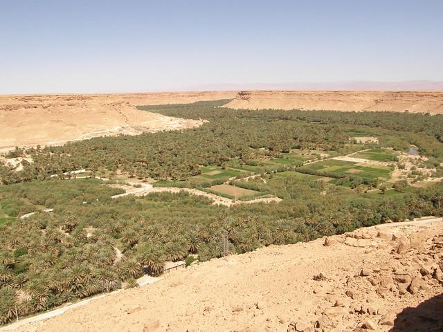 Vistas del valle del Ziz