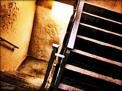 357/365- Stairs by elineart