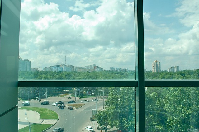 Odessa, view from the elevator