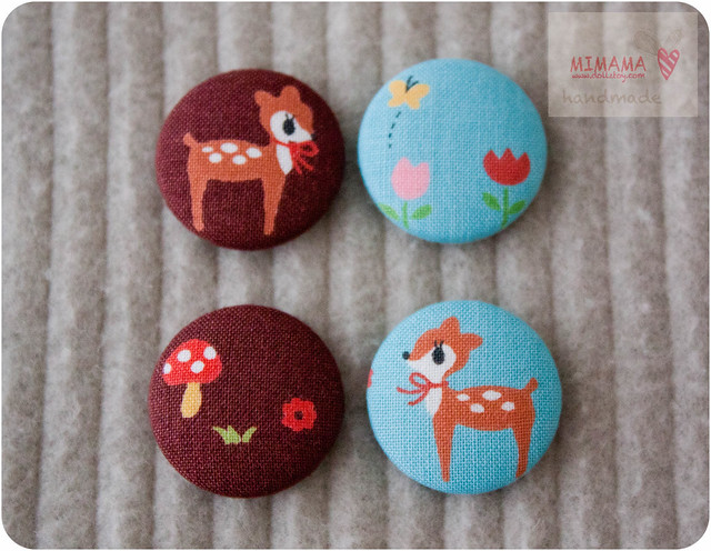 Little deer button
