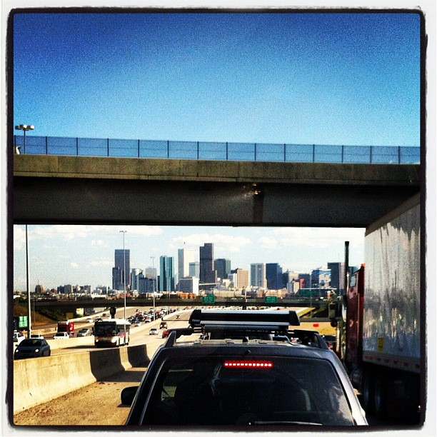 Denver traffic, you drive me crazy!