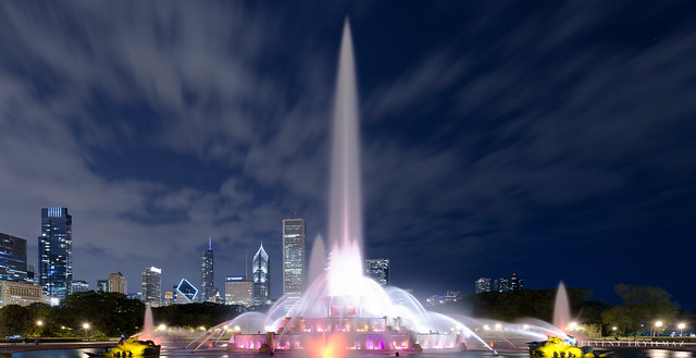 Buckingham Memorial Fountain, Chicago IL