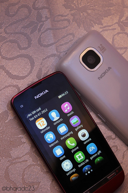 ... managed to get some sweet hands-on pictures of the Asha 311 as well