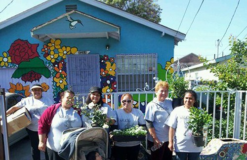 Watts House Project in LA, supported by ArtPlace (courtesy of ArtPlace)