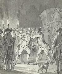 <p>Detail van een tekening van J. Buys 1801 (coll. Rijksmuseum), getiteld 'De Utrechtse burgemeester [A.] Loten door woedende burgers aangevallen, 19 december 1785.</p>