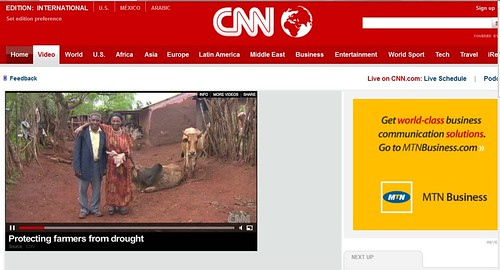 CNN video: Protecting farmers against drought