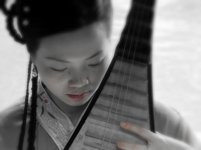 Portrait of a Suzhou singer