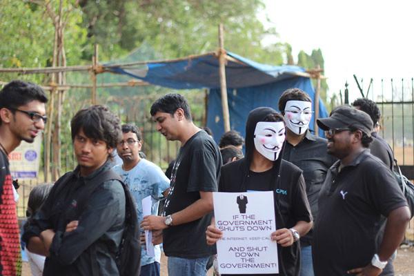 印度黑客組織抗議政府限制網路自由