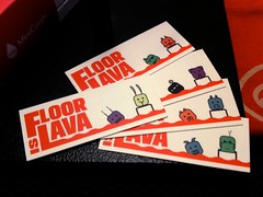 Floor Is Lava cards