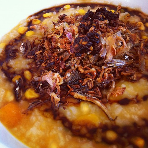 My version of Bubur Manado