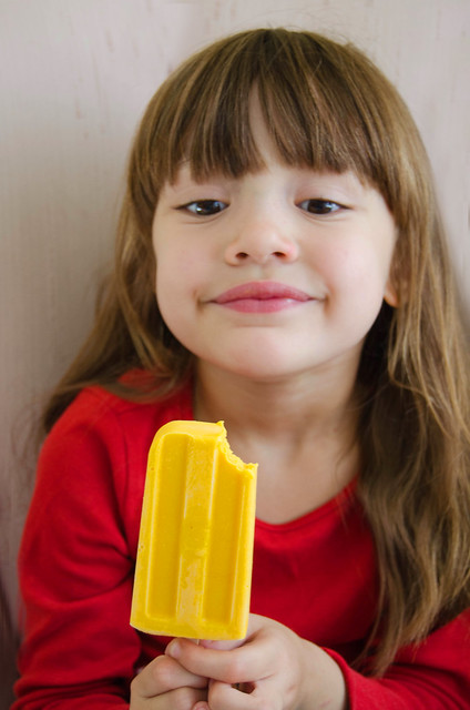Mango 'Lassi' Creamsicles