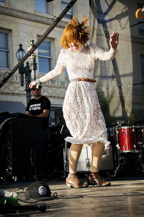 Hannah Hooper of Grouplove