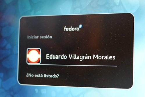 Fedora login