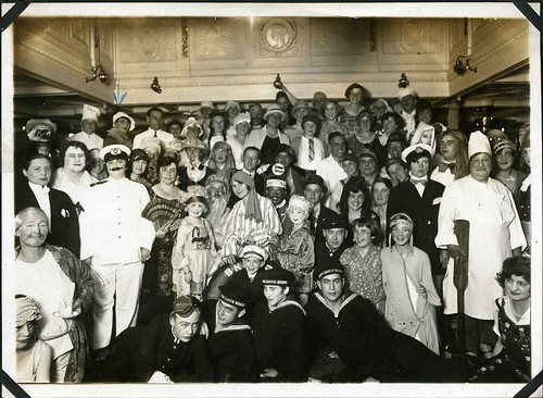 COSTUME NIGHT ON THE S.S Bremen