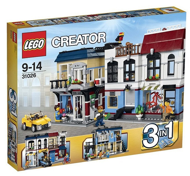 LEGO Creator 31026 - Bike Shop & Cafe