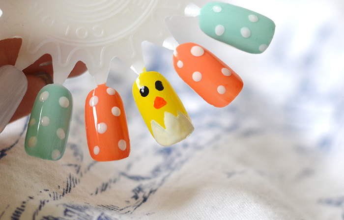 The Easter Chick Nail Tutorial