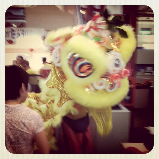 26 Jan - Lion dance in the office