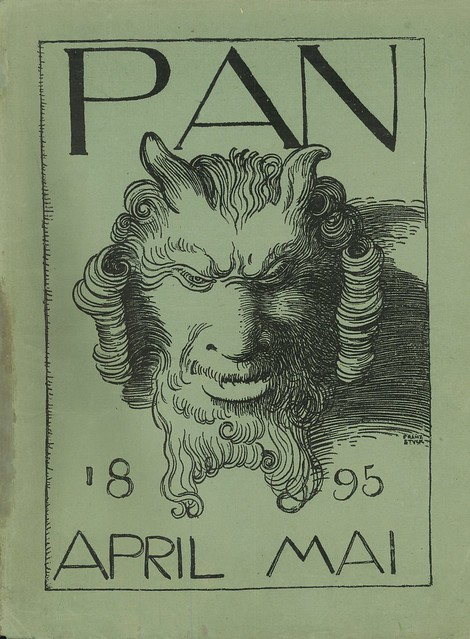 Pan.  Cover detail.  Jahrgang 1, no. 1.  April/May 1895.