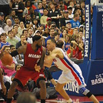 Tayshaun Prince Vs Lebron James
