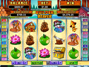 Builder Beaver slot game online review
