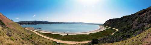 half moon bay panorama