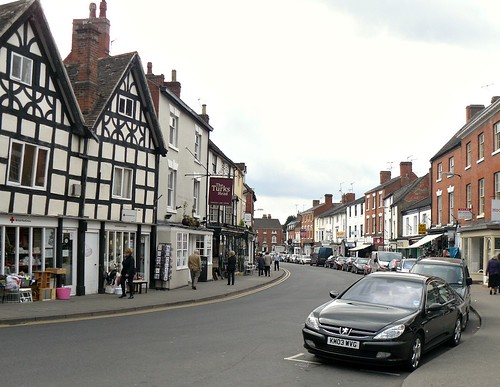 The Main Street in Alcester