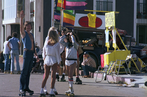 Venice Beach, Boardwalk Rollerskaters