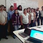 Capacitacion a las juntas de agua del Pelon, Santa Rosita, Llano De Santonio