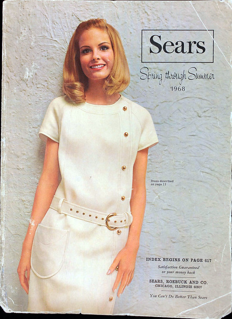 Sears Catalog Cover, Spring/Summer 1968