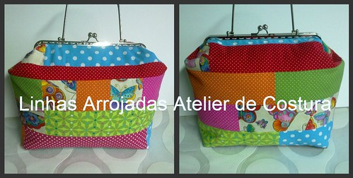 Bolsa Grande em patchwork- modelo Spring in the streat ***** by ♥Linhas Arrojadas Atelier de costura♥Sonyaxana