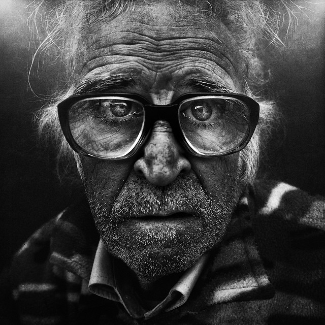 Black and white people photography by Lee Jeffries